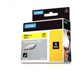 Dymo 18052 6mm Yellow Sleeve