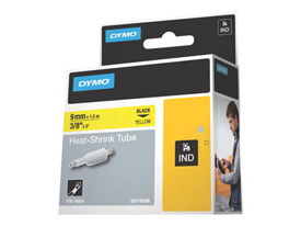 Dymo 18054 9mm Yellow Sleeve