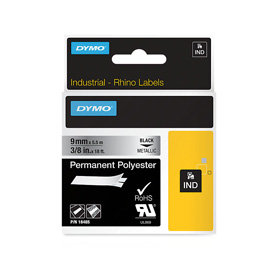 Dymo 18485 9mm Metallized Tape