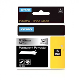 Dymo 18761 12mm Metallized Tape