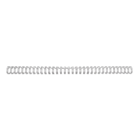 Rexel 2101007E 5mm Wires Silver