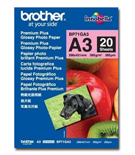 Brother Glossy Paper A3 Pack 20 BP71GA3