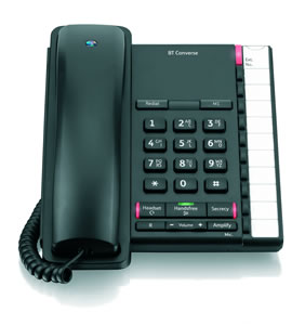 Image for BT Converse 2200 Telephone Black