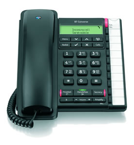 BT Converse 2300 Telephone Black