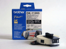 )Brother P Touch File Folder Lab DK11203