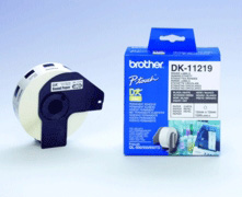 Brother DK11219 Round Labels