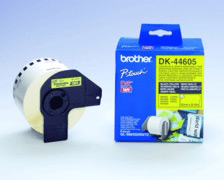 )BrotherPTouch Tape RemYelPaper DK44605