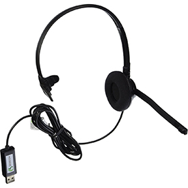 Nuance Analogue Monoaural USB Headset