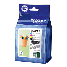 Image for BROTHER LC3217 VALUE PACK
