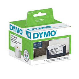 Dymo S0929100 51mm x 89mm Appointment Name Badge Cards