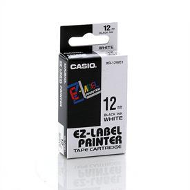 Casio XR-12WE Black on White