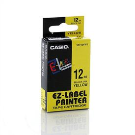 Casio XR-12YW Black on Yellow