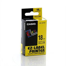Casio XR-18YW Black on Yellow